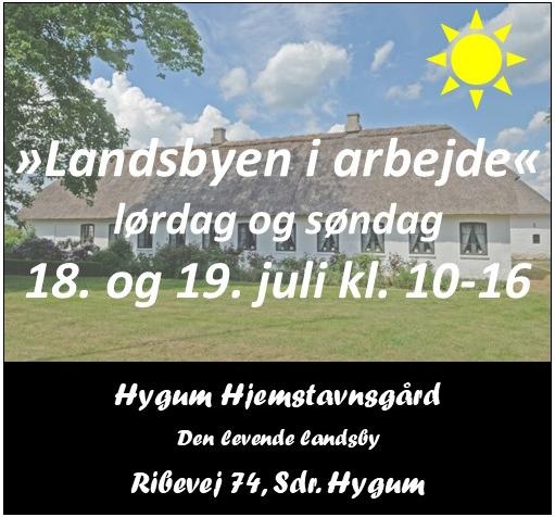 Hygum Hjemstavnsgård - landsbyen i arbejde