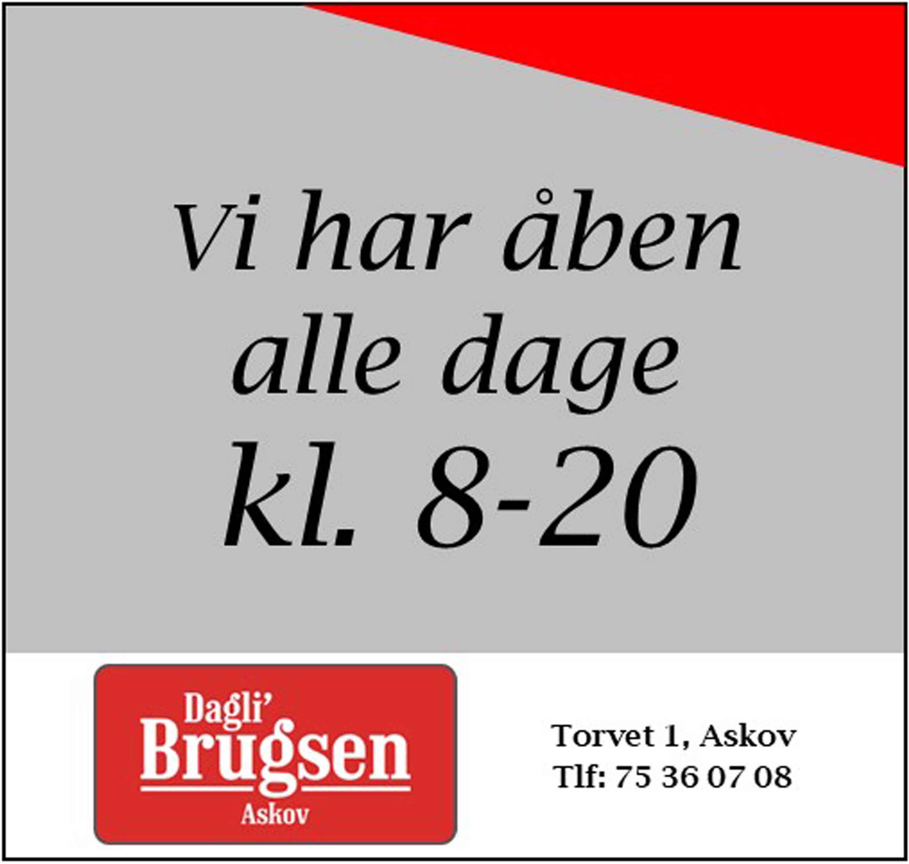 Dagli-Brugsen - 22-21