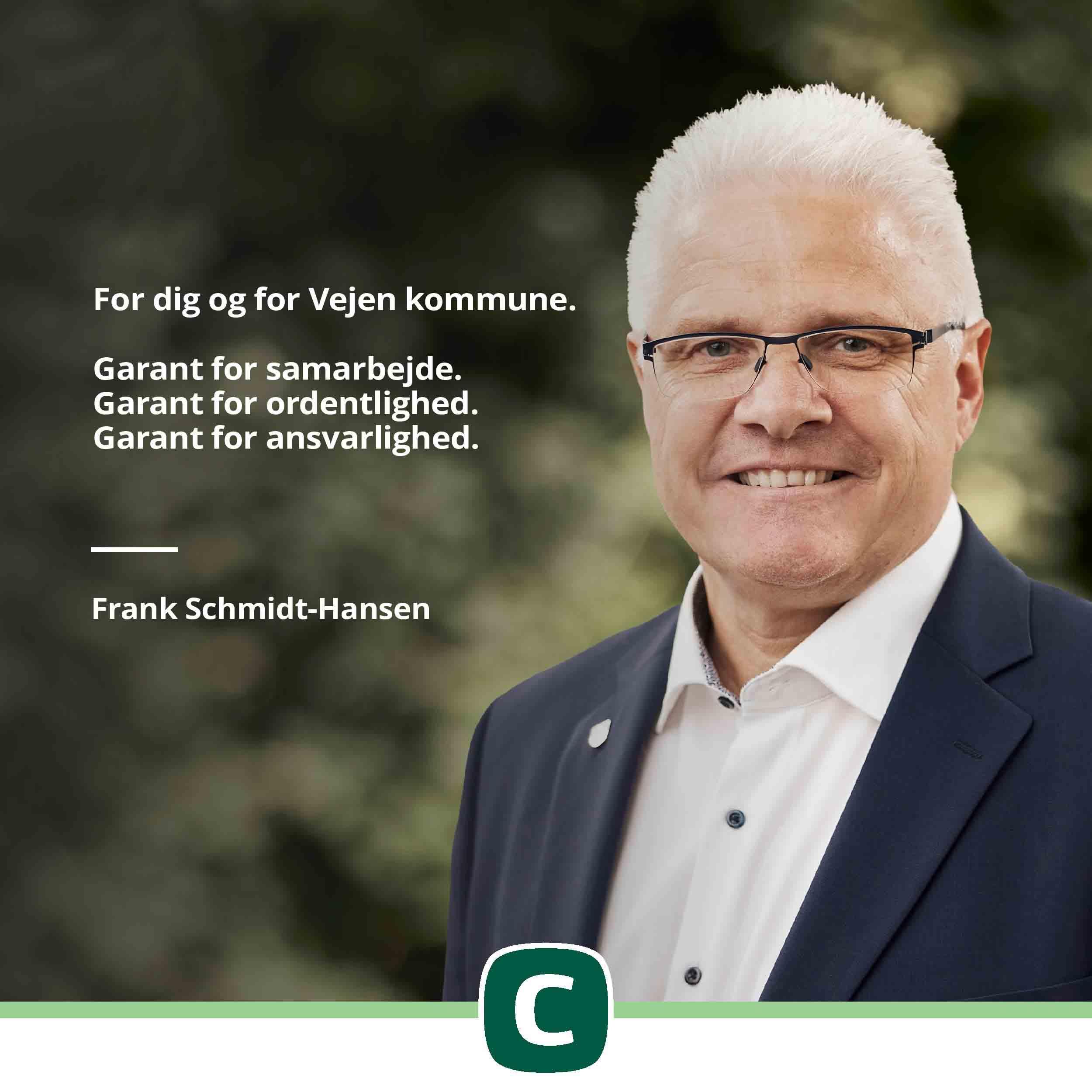 Frank Schmidt-Hansen - valg